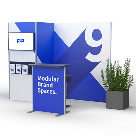 Display Stand Hire Uk : Portable display stands exhibition stands banner stands