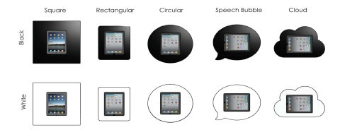 Kiosk Tablet Display Bezel Options