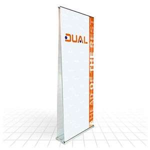 Double Sided Banner Stands