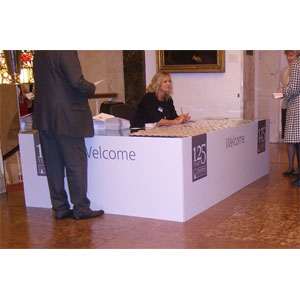 Foamex Panels [Reception Desk]