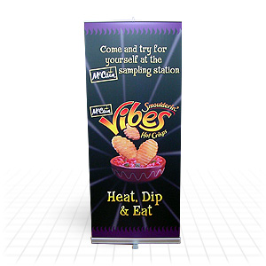 Quickscreen Retractable Banner Stand
