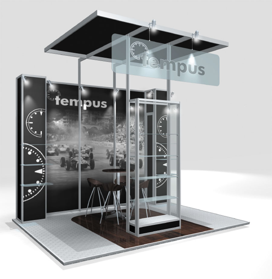 Modular Exhibition Stands Zero : Linx modular pro build