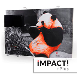 Impact Plus premium pop up display system