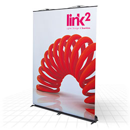 Next generation linkable banner stand
