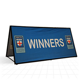 Rectangular Pop Out Banner