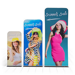 Straight Fabric Banners