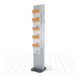 Tower Literature Stand