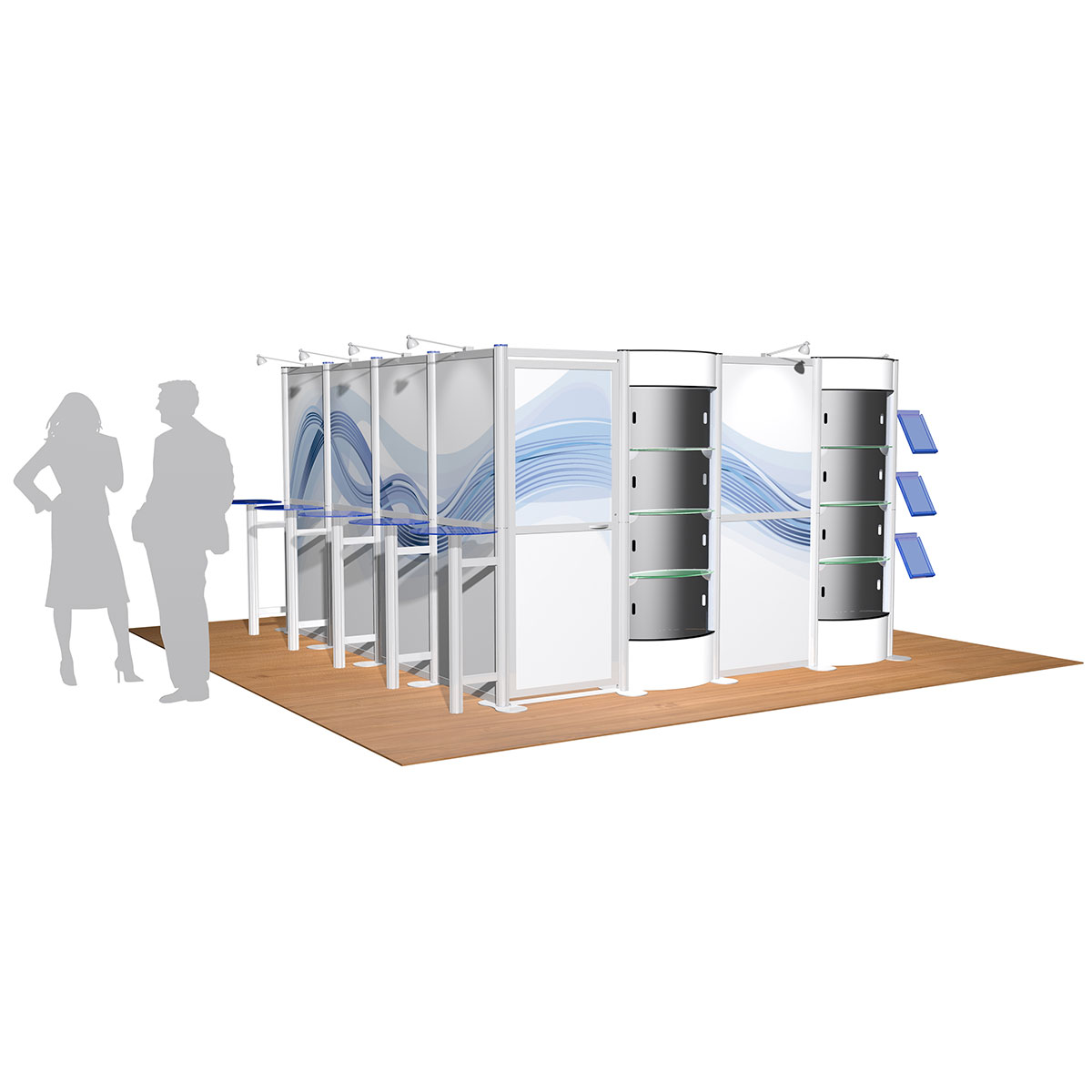 Modular Exhibition Stands Zero : Centro modular exhibition stands