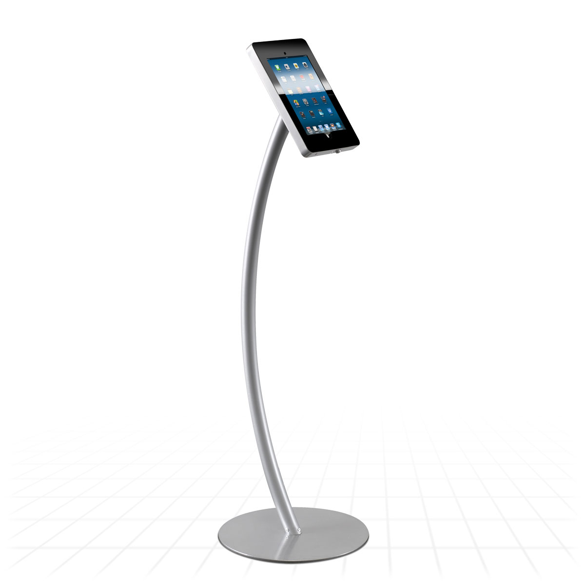 Curve Ipad Display Stand Tablet Display Stands