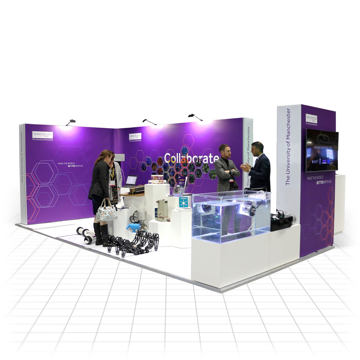 Modular Exhibition Stand Vector : Impact modular exhibition stands