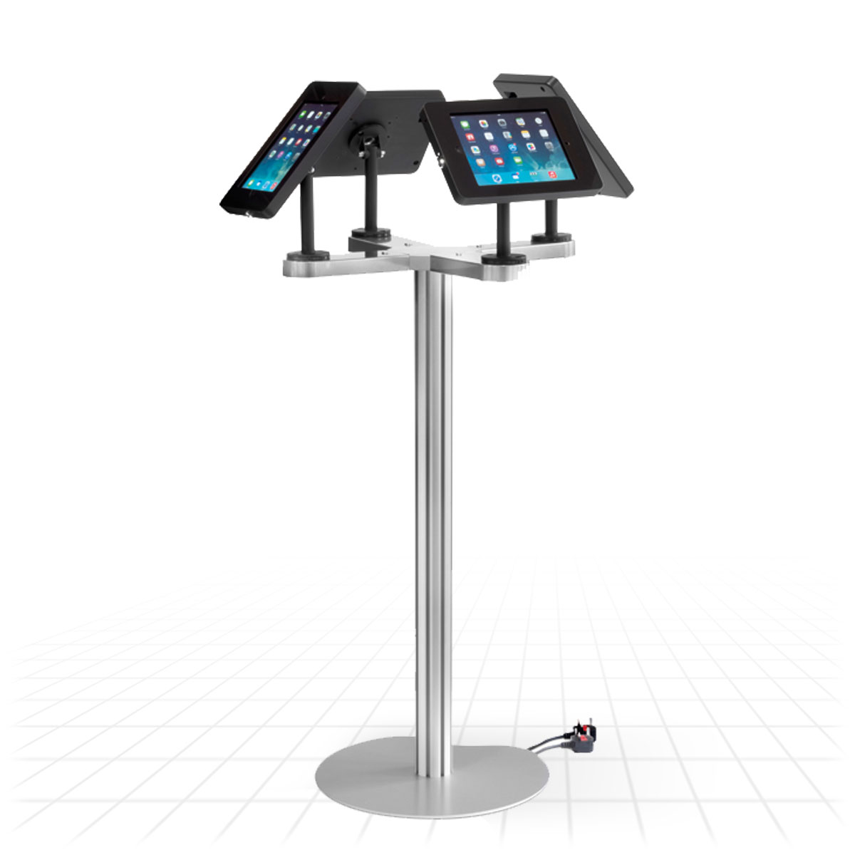 Ipad Quad Display Stand Tablet Display Stands