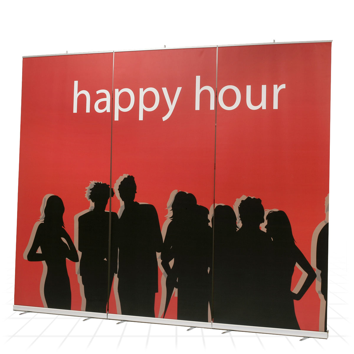 Mediascreen Xl Super Sized Roller Banner Stand Cover Motor Size