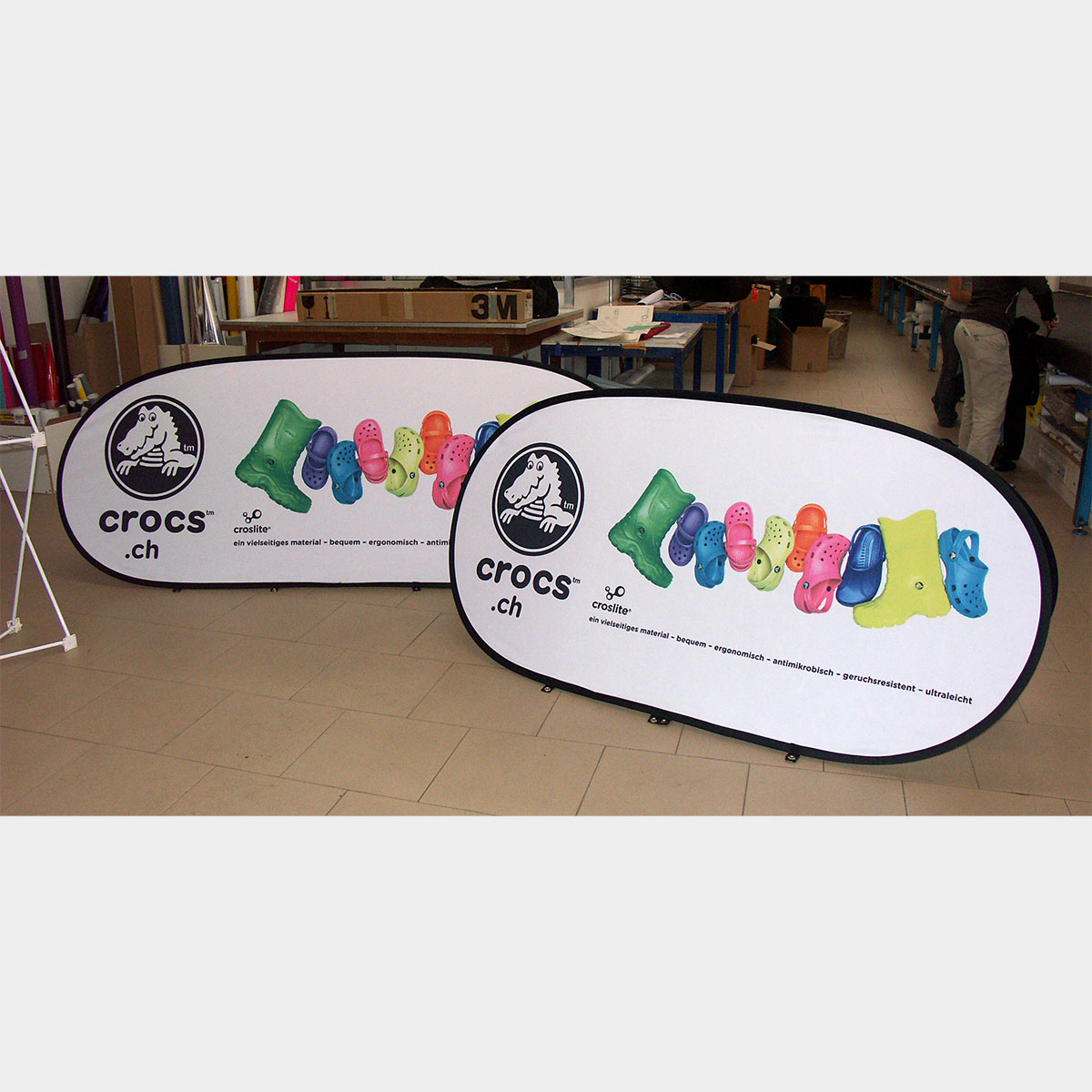 Pop Up A Frames Pop Out Banner