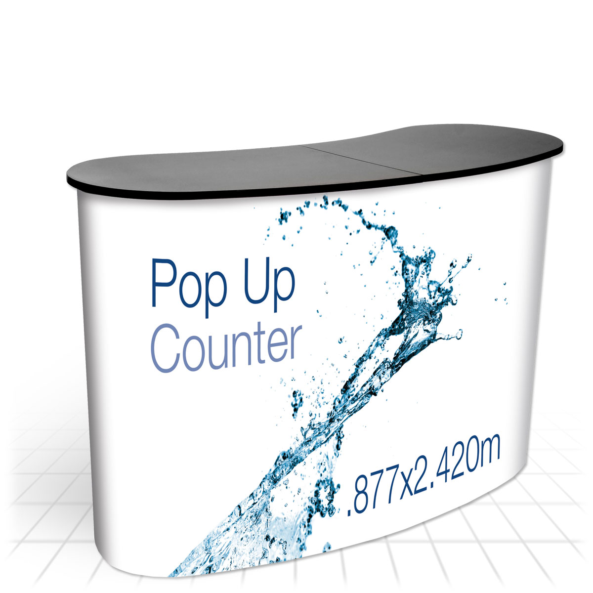 Modular Exhibition Stand : Pop up counter podiums