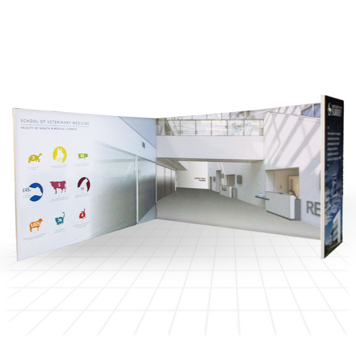 Modular Exhibition Stands Yoga : Stretch modular exhibition stands