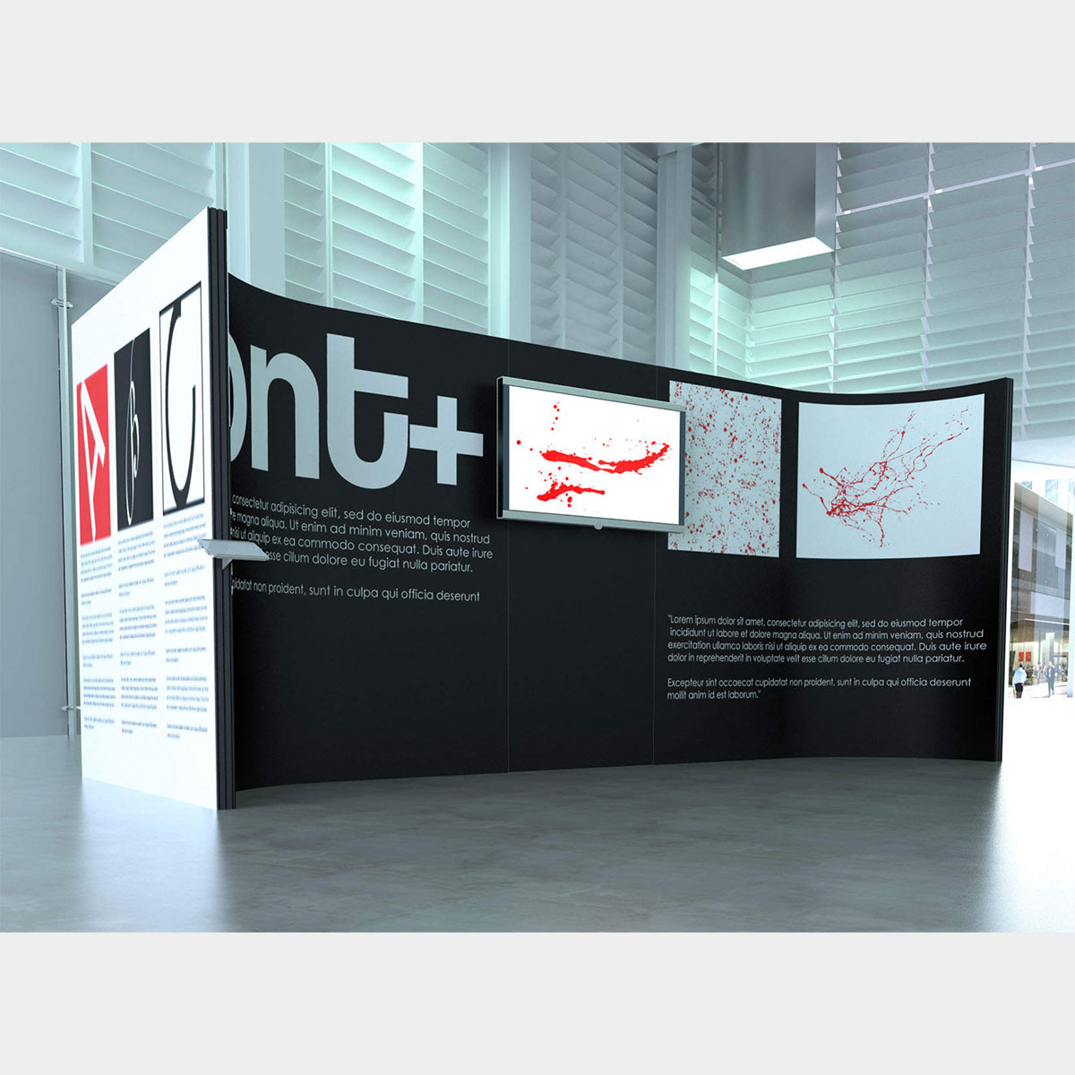 Modular Exhibition Stands Quotes : Stretch modular exhibition stands