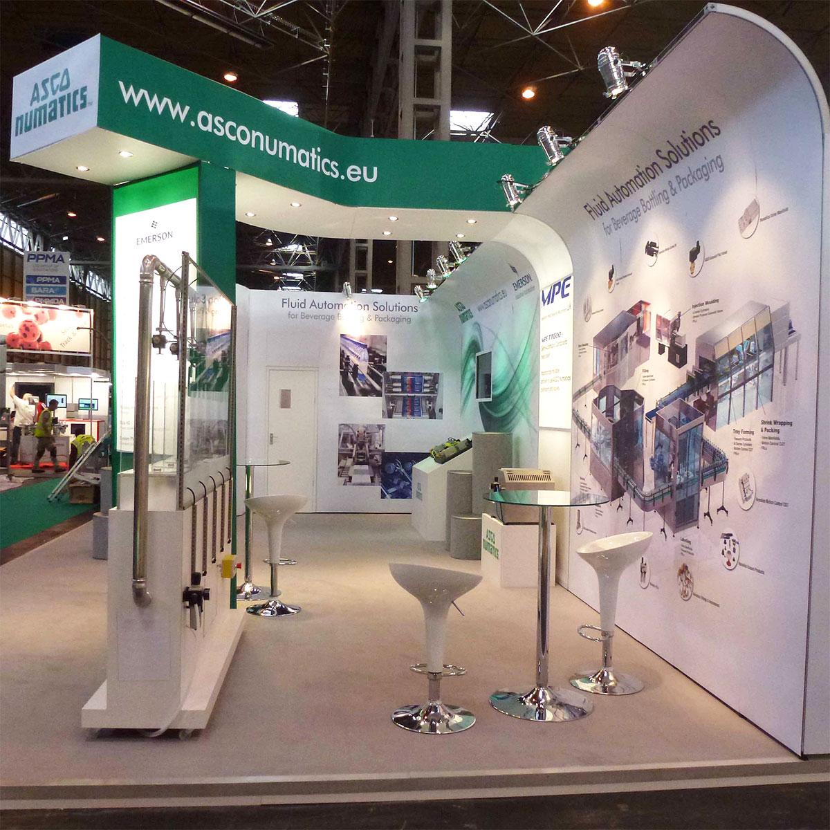 Modular Exhibition Display Stands : T modular exhibition stands