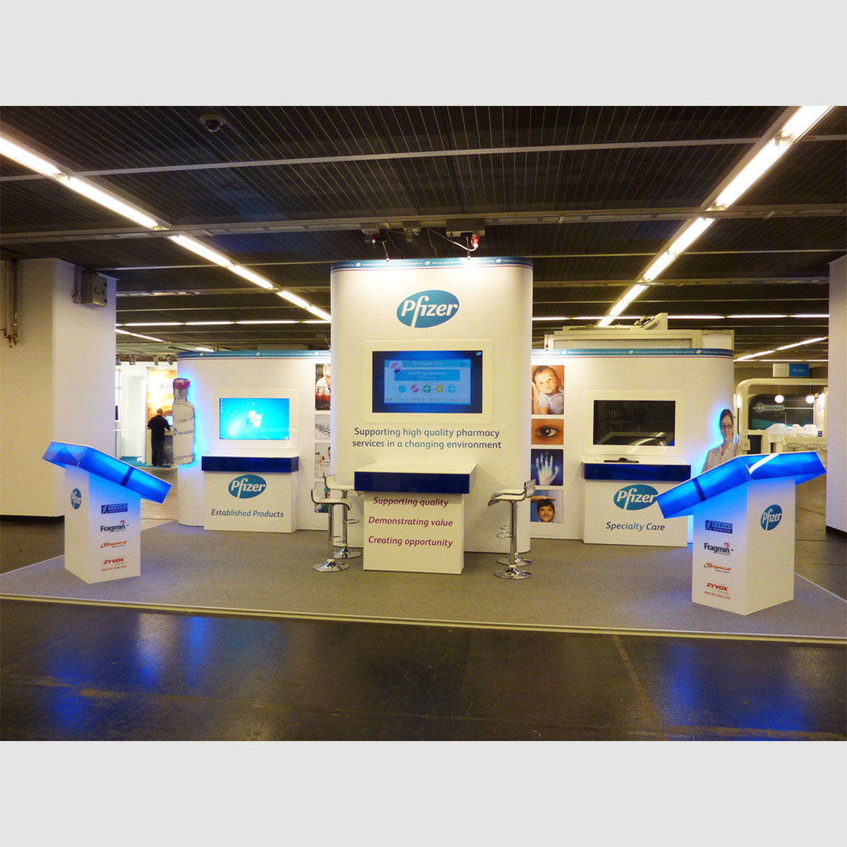 Modular Exhibition Stands Election : T modular system exhibition stands