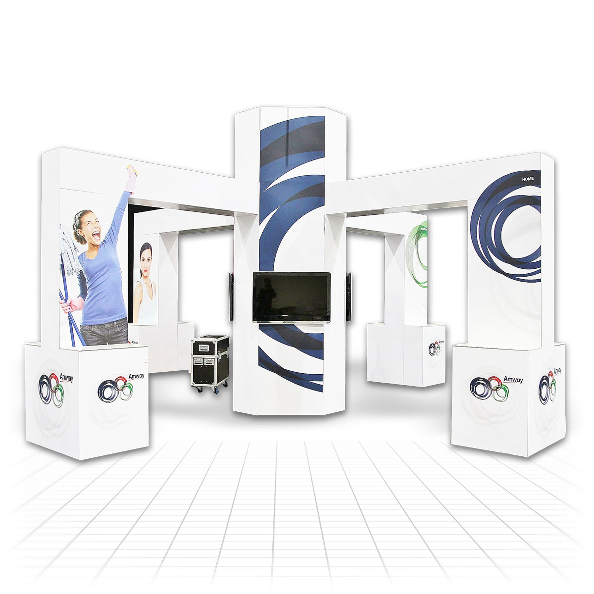 Small Modular Exhibition Stands : T modular exhibition stands