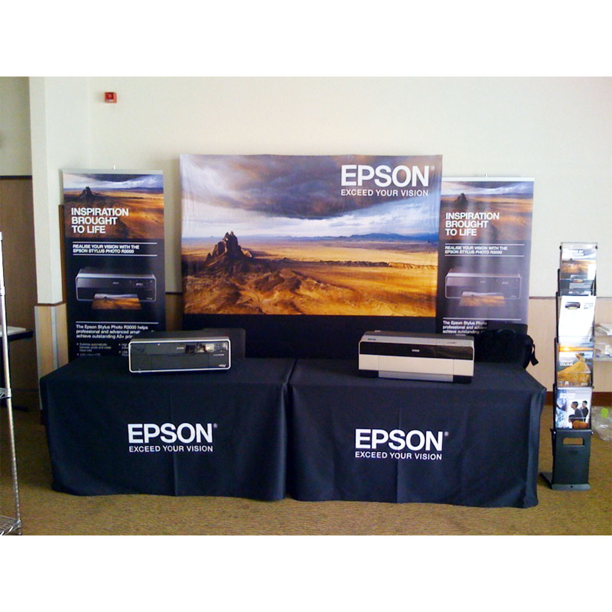 Exhibition Stand Tablecloths : Printed tablecloths exhibition tablecloths