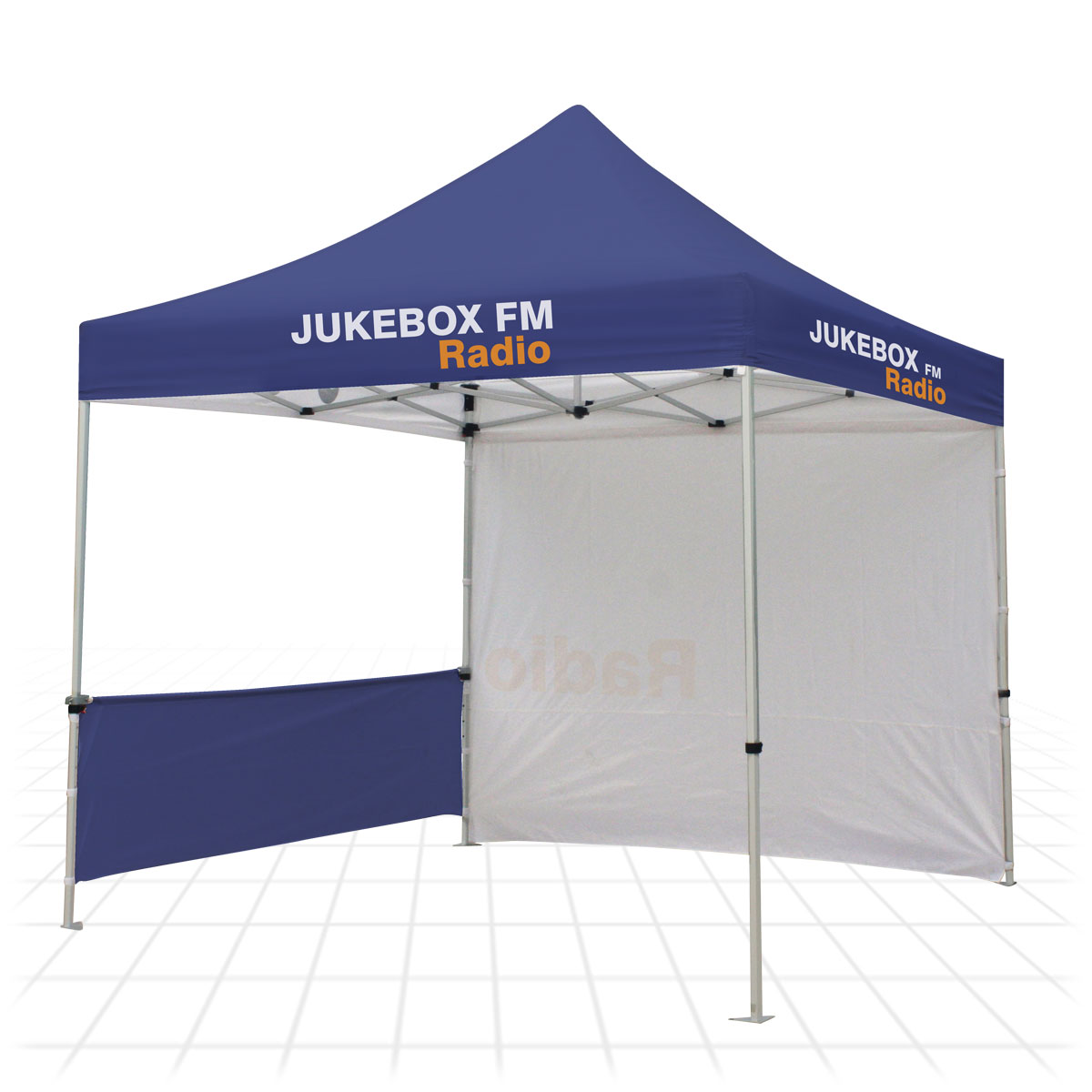 Zoom Tent [1 half-wall u0026 1 full-wall]  sc 1 st  Zoom Display & Zoom Tent | Outdoor Shelters