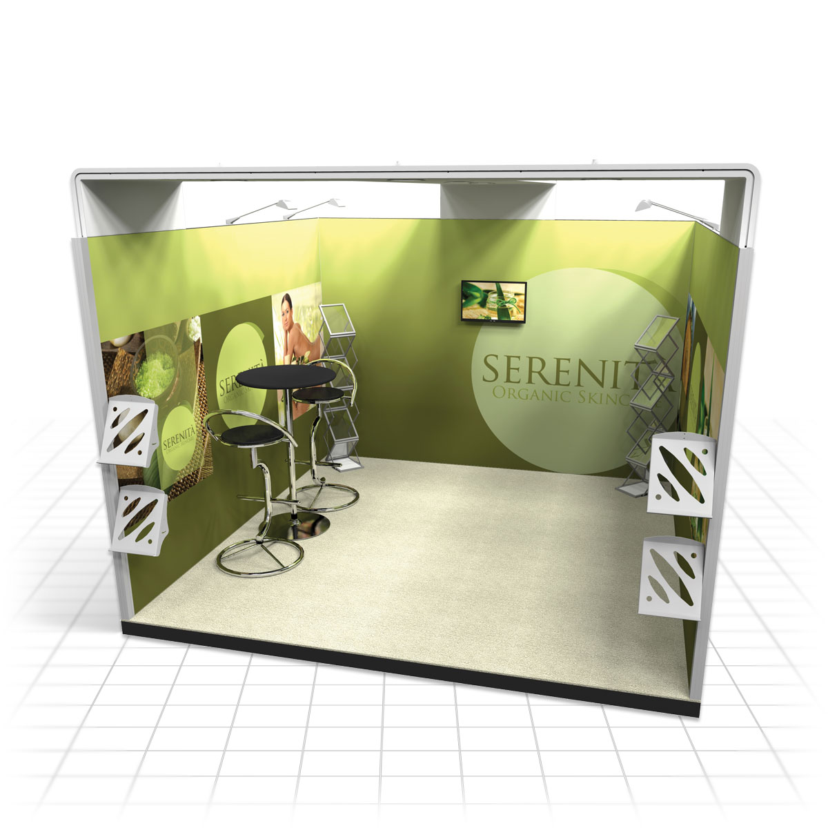 Exhibition Stand Vector : Vector modular pro build