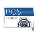 3D effect backlit poster display