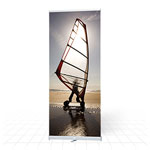 Cost effective, mid range banner stand