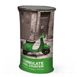 Formulate Fabric Counter (Oval Counter)