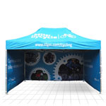 Branded Gazebos<br />range of sizes
