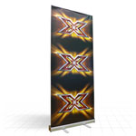 Quickstand low cost budget banner display stand
