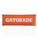 Rectangular Pop Out Banner [Gatorade]