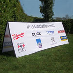 Rectangular Pop Out Banner [NICEIC]
