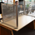Acrylic Desk Partition