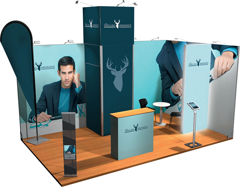 Example 1 Visual : Stand 15m²