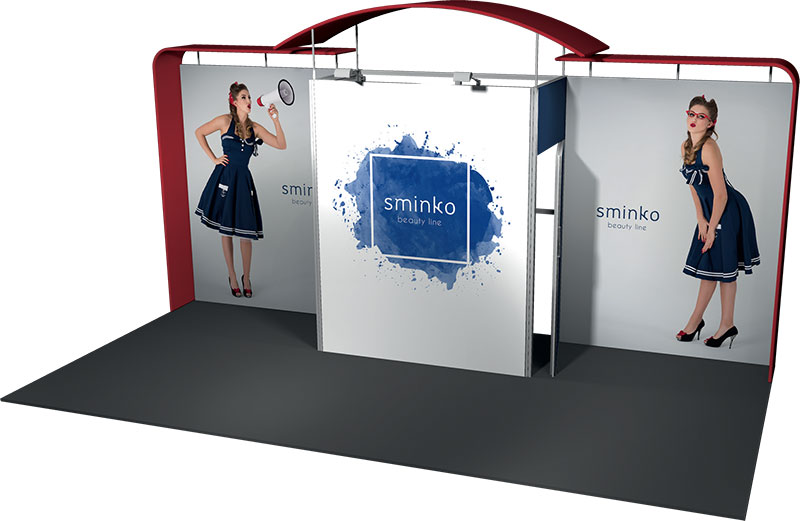 Example 4 Visual : Stand 18m²
