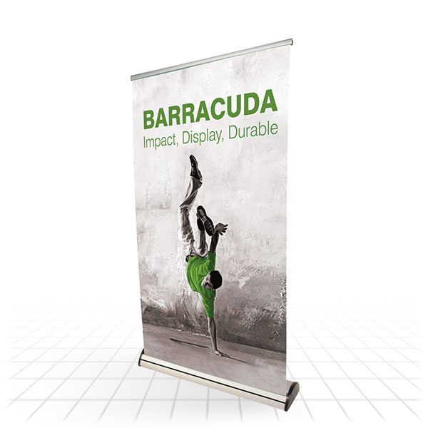 Barracuda Mid-range Banner Stand