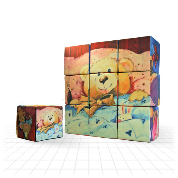 Foam Cube [Teddy Wall]