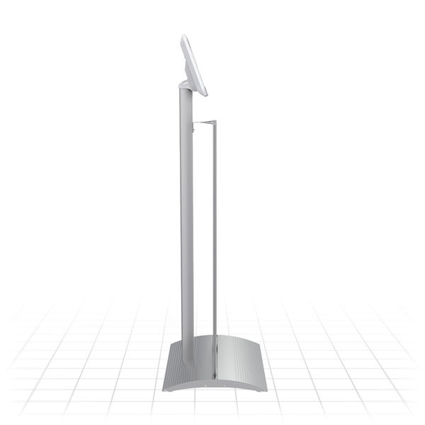 Kiosk Plus Tablet Display Stand (Straight - Side)