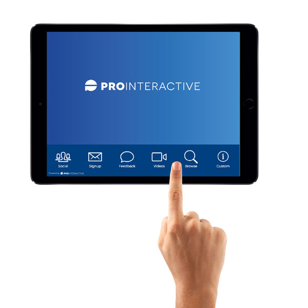 iPad Portal Software