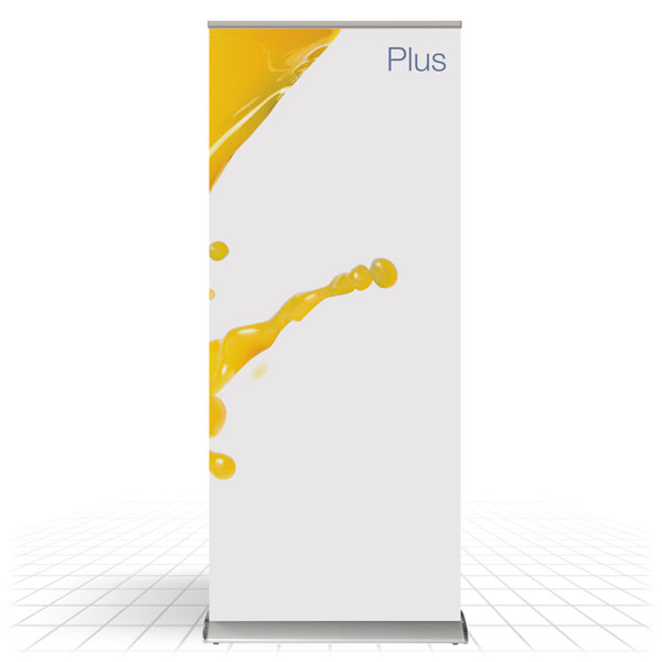 Plus Roller Banner [Front View]