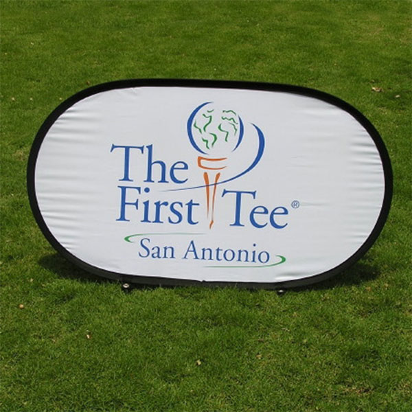Pop Out Banner [First Tee]