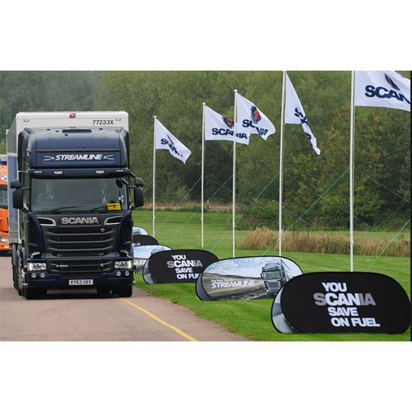 Pop Out Banner [Scania]