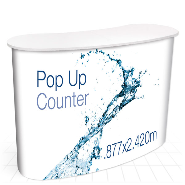Pop Up Counter [White Top]