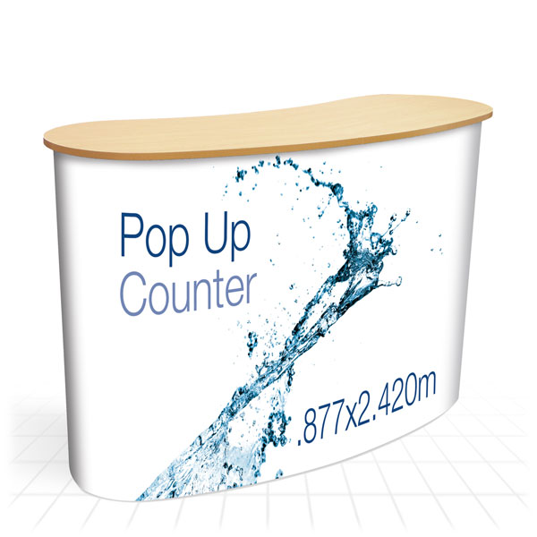 Pop Up Counter [Wooden]