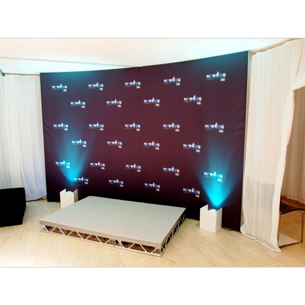 Stretch Fabric Exhibition Stands : Stretch freestanding fabric display stands
