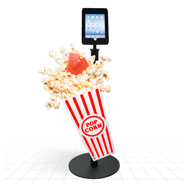 Techno Space iPad Stands [Popcorn]