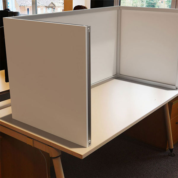 Fabric Desk Partition