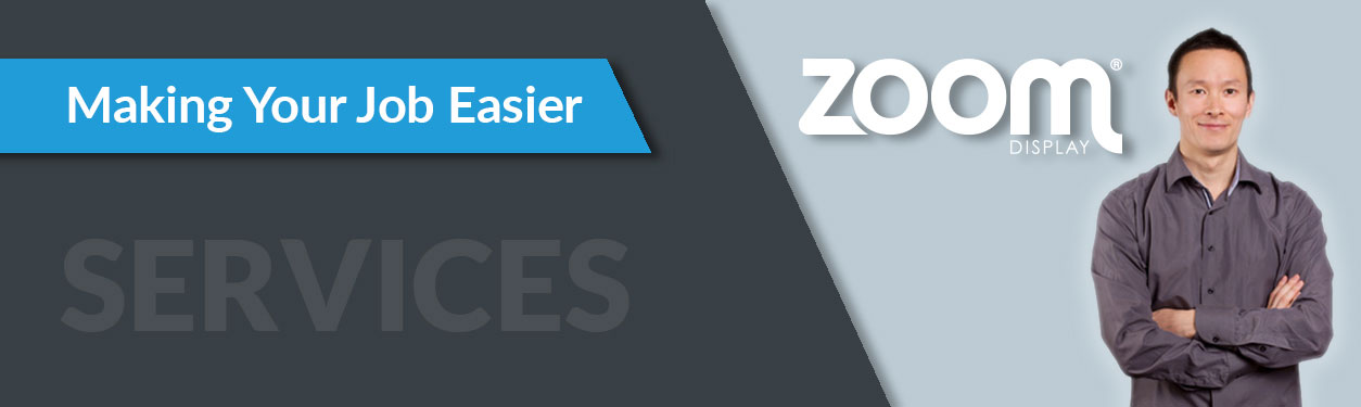 Exhibitor Services from Zoom Display
